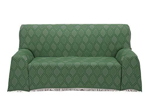 Cardenal Textil Roma Foulard Multiusos, Verde, 180x290 cm