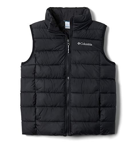 Columbia Powder Lite Puffer Vest Chaleco, Unisex niños, Negro, XL