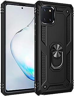 XINKOE Case for Samsung Galaxy Note 10 Lite, PC TPU 2 in 1 Ultra Silm Cover Ring bracket [Slim-Fit] [Anti-Scratch] [Shock ...