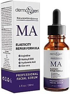dermaXgen MATRIXYL 3000 + ARGIRELINE + Retinol Acetate (Vitamin A) + Hyaluronic Acid + Vitamin C - PURE ORGANIC Powerful Triple Combination Serum/Reduce Sun Spots, Facial AGED Wrinkles 1 oz.