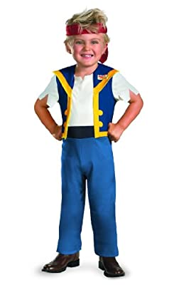 Disney Jake And The Neverland Pirates Jake Classic Costume, Small