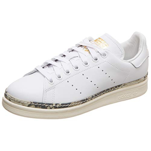 adidas Stan Smith New Bold W, Scarpe da Ginnastica Donna, Bianco (Ftwr White/off White/Supplier Colour Ftwr White/off White/Supplier Colour), 37 1/3 EU