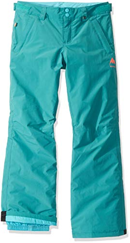 Burton Little Kids & Baby Little Little Kids Sweetart Snow Pant, Green-Blue Slate, X-Large
