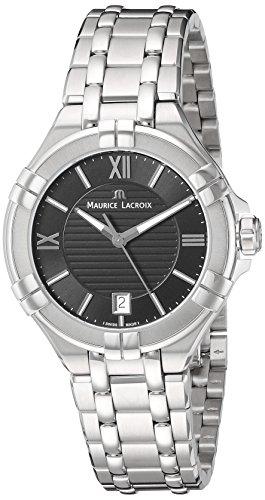 Maurice Lacroix Damen Analog Quarz Uhr mit Edelstahl Armband AI1006-SS002-330-1
