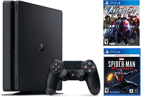 Holiday Family Bundle Sony Playstation 4 1TB Slim- Jet Black