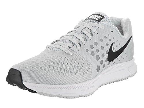 Nike Men's Air Zoom Span Running Shoe White/Black/Cool Grey/Pure Platinum Size 11.5 M US