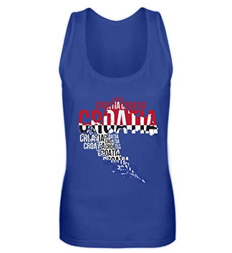 SwayShirt Kroatien Hrvatska Nationalmannschaft Fussball Soccer Flagge Kroatisches Trikot Geschenk - Frauen Tanktop