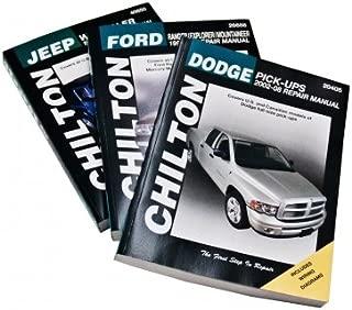 Automotive Repair Manual for Chevrolet Vans 1998-'10 (28643)