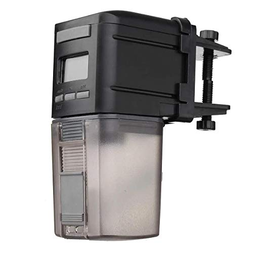 DollaTek Alimentador automático de Peces con temporización Digital, alimentador Inteligente para Peces,...