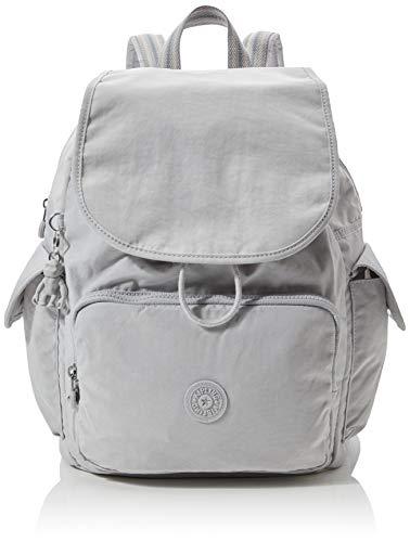 Kipling Damen City Pack Rucksack, Grau (Curiosity Grey), 32x37x18.5 cm