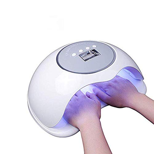 Nail Dryer 72W UV LED Nail Lamp [Big Size] [Quick-drying] with 4 Timers Professional Nail Art Tools Accessories