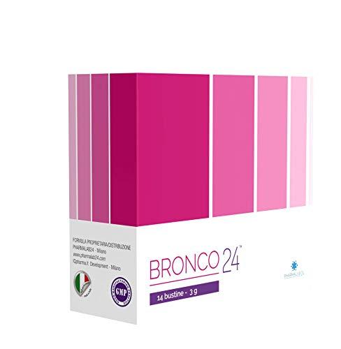 Bronco24 Nutraceutico per le Vie Aeree Superiori per Raffreddore e Catarro