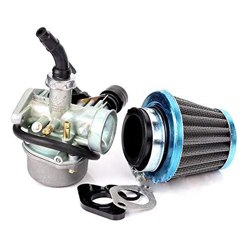 XIXI-Home PZ19 de la Suciedad de la Motocicleta 19mm Filtro de Aire de la Bici con la Junta del carburador en Forma for el 50 70 90 110cc 125CC ATV Quad 4 Wheeler Go Kart