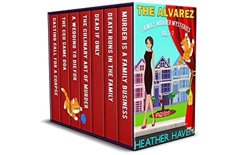 The Alvarez Family Murder Mysteries: Vol 1-7 (English Edition)
