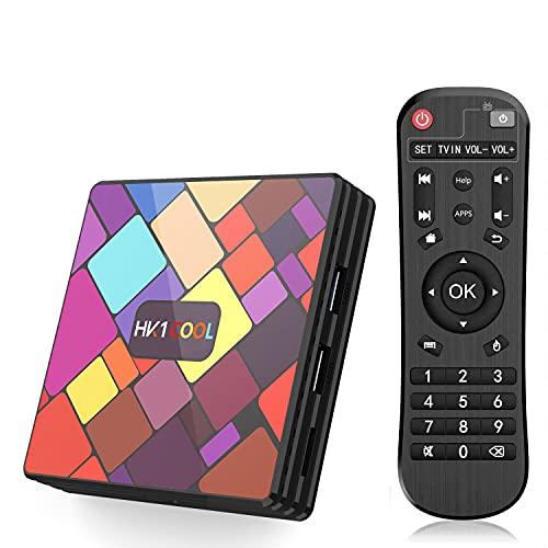 GEQWE Android 9.0 TV Box, Android TV Box 4GB Ram 128GB ROM...