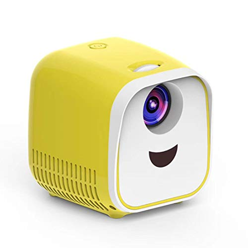 YPJKHM Mini proyector LED para niños Home Support Full HD...