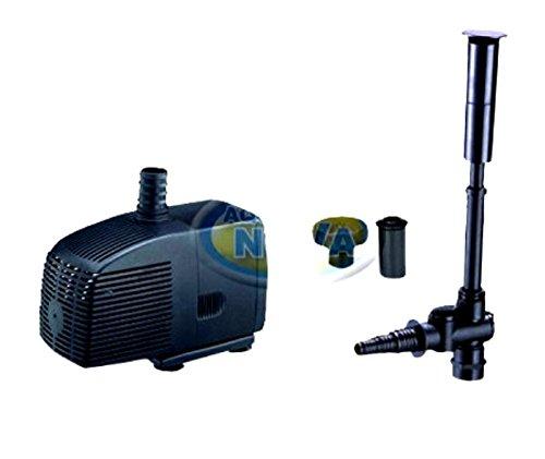 Aqua Nova Pompe de bassin 2000 l/h – Pompe de fontaine / pompe filtrante pour bassin de jardin / fontaine