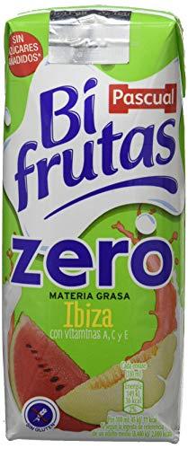 Bifrutas Zumo Leche, Sabor Ibiza - Paquete de 6 x 990 ml - Total: 5940 ml