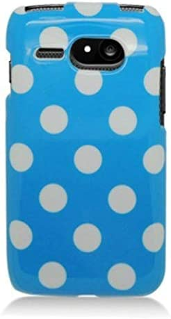 Aimo KYOC5133PCPD302 Trendy Polka Dot Hard Snap On Protective Case for Kyocera Event C5133 Retail product image