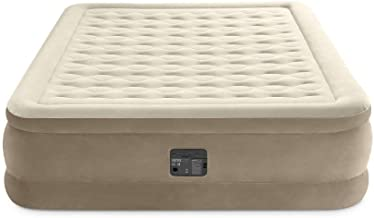 Intex 64428NP Luchtbed Ultra Plush Bed Queen 230 V, Beige