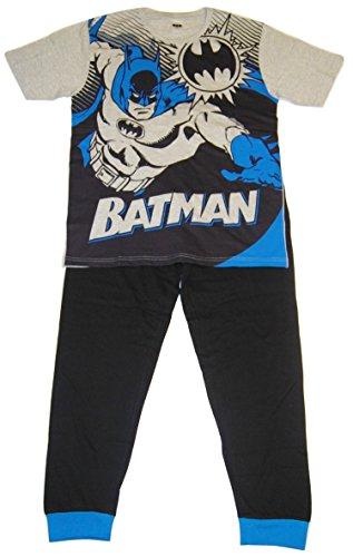 DC Comics Hombres Batman Set de Pijama de Dos Piezas - Medium