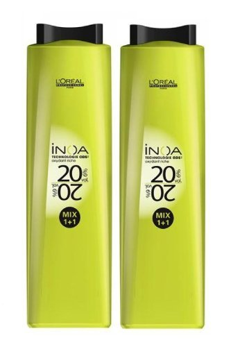 L'Oréal Inoa Oxydant Lot de 2 flacons de 1000 ml