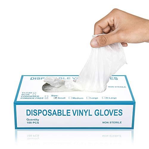 ニトリル手袋 Hombasis 使い捨て手袋【手にやさしい 手荒れしにくい】 厚手 使い捨て ディスポ手袋 左右兼用 ホワイトS