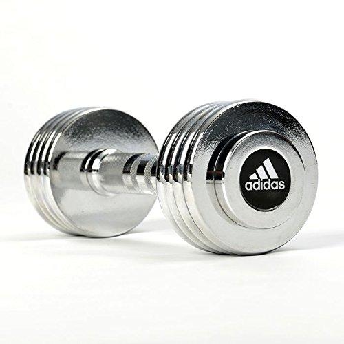 adidas(アディダス) トレーニング 5kg クロームダンベルセット ADWT-10026