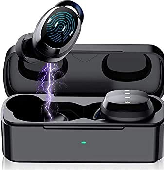 Bluetooth Wireless Earbuds - FIIL T1XS Bluetooth 5.0 Wireless Earphones Support FIIL+ APP Waterproof Earbuds with Microphone in-Ear Earbuds Cordless for iPhone & Android  Black