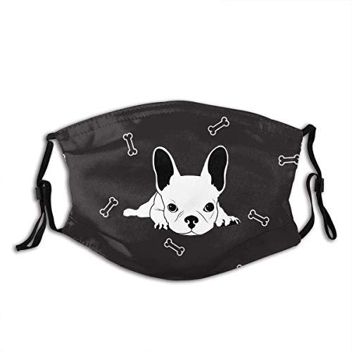 Bandanas Jopath - Funda para boca personalizada con diseño de bulldog francés