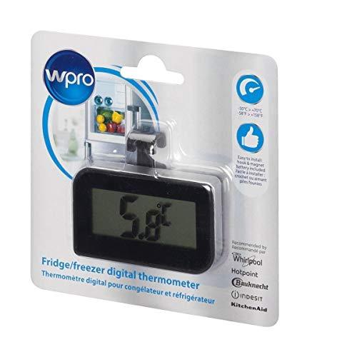 Wpro bdt102 Thermomètre numérique pour réfrigérateur et congélateur en, 12 cm