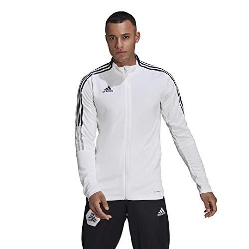 adidas mens Tiro 21 Track Jacket White Large