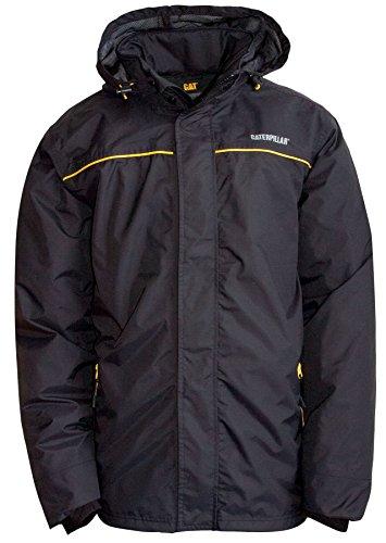 Caterpillar Mens Traverse Waterproof Jacket Black