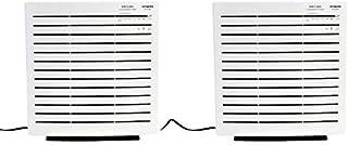 HITACHI Air Purifier, White [Epa3000] + HITACHI Air Purifier, White [Epa3000], 1 Year Warranty