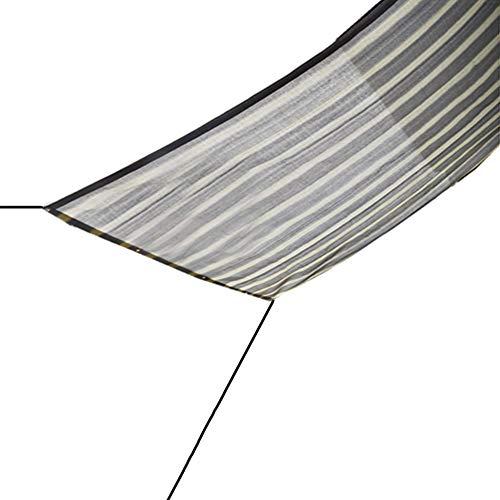 Sombra Solar Malla Cubierta de Sombra de Pérgola Toldo de Protección Solar para Patio Tela Permeable HDPE con Ojales, Sail Shade Keep Cool para Jardín Patio Trasero (Size : 0.5x2m)