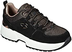 Concept 3 by Skechers Women's to Top It Off Lace-up Fashion Sneaker