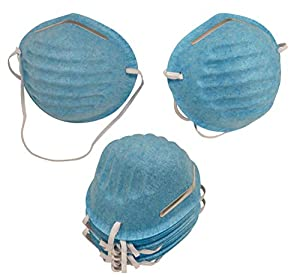 Face Mask respirator Medical Surgical disposable Mask - 50 Cone Masks