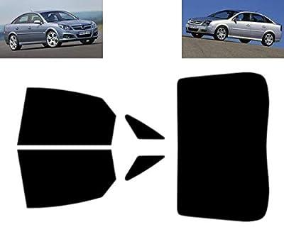 Film Solaire Prédécoupé Teinté pour-Opel Vectra C 5-Doors Hatchback 2003-2009 Vitres Arrière & Lunette