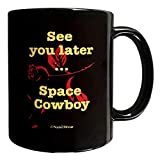 N\A Tazza Bebop Anime in Ceramica a Doppia Faccia da 11 Once Ci Vediamo più Tardi, Space Cowboy IIJVSC