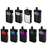 正規品 3ヵ月保証書付き Hellvape GRIMM Pod System Kit 1200mAh Amazon限定 エンプティボトル 付き (SILVER)