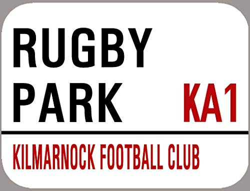 TNND Kilmarnock Fc Rugby Park Metal Sign 8x12 inches