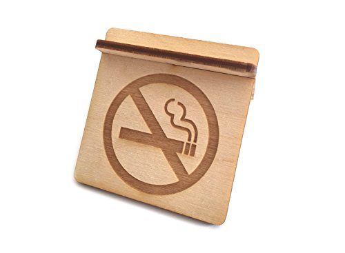 """Cartello """"vietato fumare"""" autoportante, in compensato, da montare, per negozi, uffici, ambulatori, bar, ristoranti"""