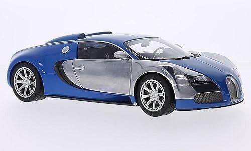Bugatti Veyron EB 16.4 Edition Centenaire, blau chrom, 2009, Modellauto, Fertigmodell, AUTOart 1 18