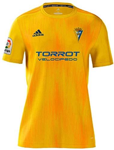Camiseta adulto 1ª equipación 19/20 Cádiz C.F, Color Amarillo
