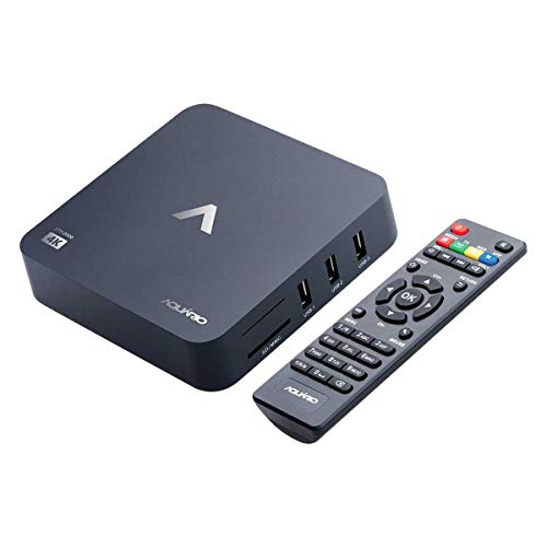 Smart TV Box, Aquario STV-2000, Preto, Pequeno