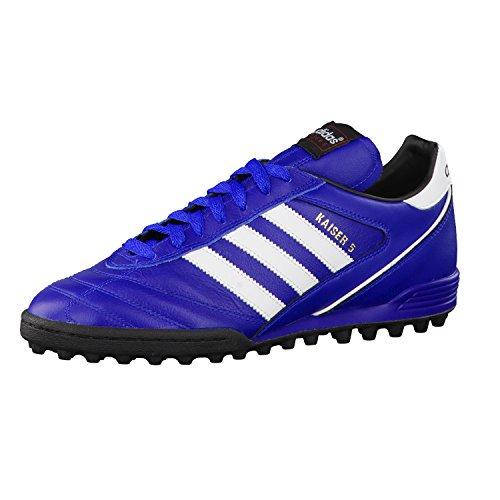 adidas Kaiser 5 Team Herren Boots blau/weiß/schwarz, Mehrfarbig - Blau Weiß Schwarz - Größe: 40 EU