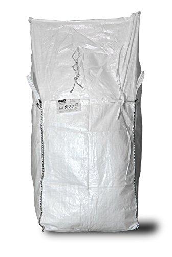 Superbag Big Bag Lot de 10 Sacs de Rangement avec Couvercle de Porte 90 x 90 x 110 cm 1000 kg