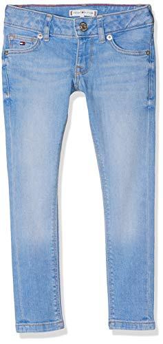Tommy Hilfiger Mädchen Sophie Skinny AVBBST Jeans, Blau (Avenue Bright Blue Stretch 911), 104 (Herstellergröße: 4)