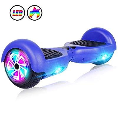 "JOLEGE Hoverboard 6.5"" Self Balancing Hoverboards for Kids with LED Light - Ul2272 Certified"