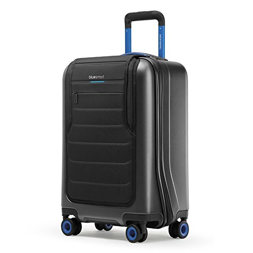 Bluesmart One - Smart Luggage: GPS, Remote Locking, Battery Charger (International Carry-on Size, TSA-Approved)